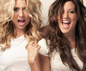ashley tisdale and aly michalka image