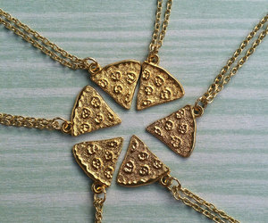 etsy, pizza, and pizza necklace image