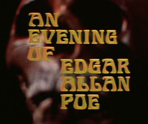edgar allan poe, evening, and mistery image