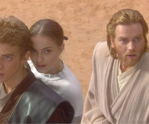 Anakin Skywalker, star wars, and padme amidala image