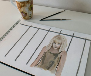 elastic heart, ️sia, and maddie zieggler draw image