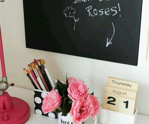 room and roses image