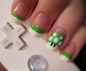 nails, green, and mario image
