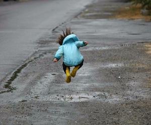 rain and cute image