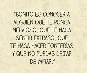 amor, bonito, and frase image