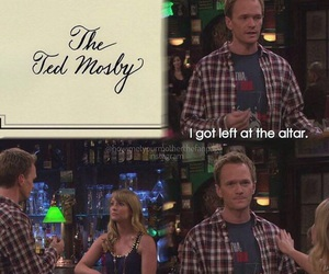 himym, Barney Stinson, and ted mosby image