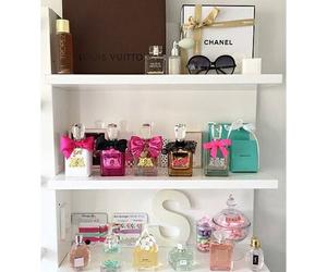 bedroom, boho, and cosmetics image
