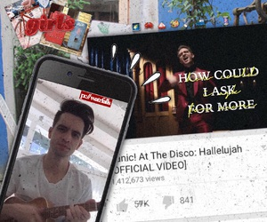 aesthetic, brendon urie, and indie image