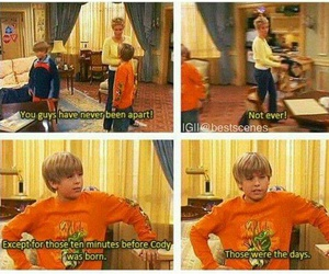 funny and zack and cody image