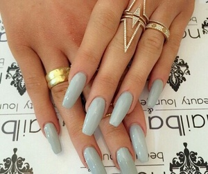 pale blue, pastel, and rings image