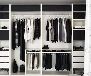 closet, clothes, and wardrobe image