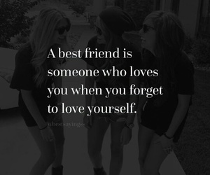 friend and quote image