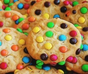 Cookies, food, and m&m image