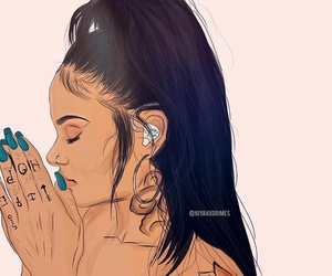 kehlani and drawing image