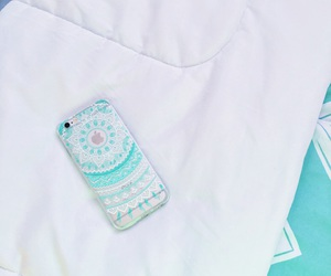 henna, mint, and phone case image