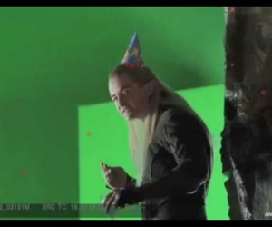 elf, Legolas, and orlando bloom image