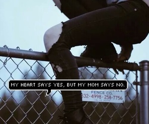 grunge, heart, and black image
