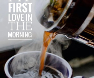 coffee, first love, and morning image