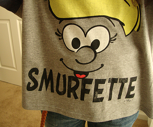 cute, photography, and Smurfette image