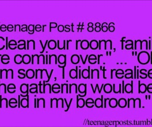 teenager post, family, and funny image
