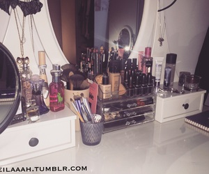 makeup, organizer, and sweden image