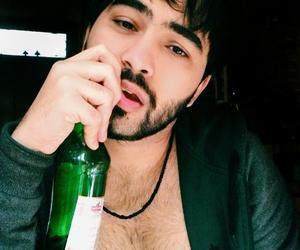alcohol, alternative, and beard image