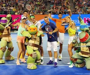 djokovic, tennis, and federer image