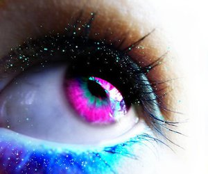 colorful and eyes image
