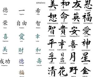 chinese tattoo symbols image