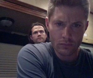Jensen Ackles, supernatural, and jared padalecki image