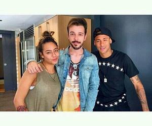 rafaella, neymar, and neymar jr image