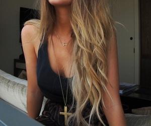 hair, girl, and smile image