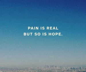 blue, hope, and words image