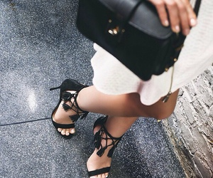 bag, shoes, and beauty image