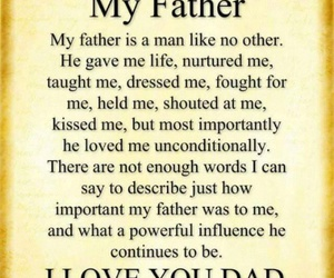 i luv my father image