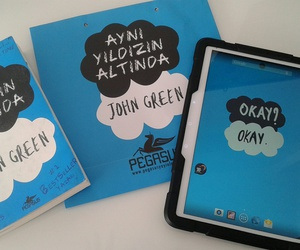 john green, pegasus, and the fault in our stars image