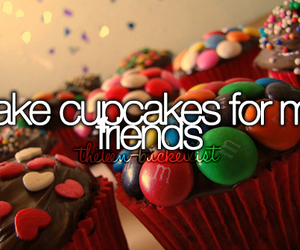cupcake, food, and bucket list image