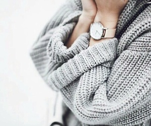cozy, grey, and fashion image