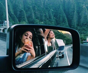 friends, travel, and car image