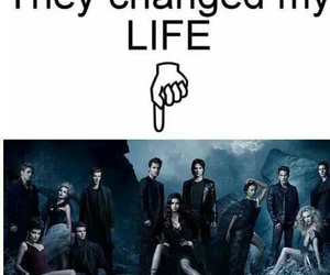 the vampire diaries, tvd, and life image