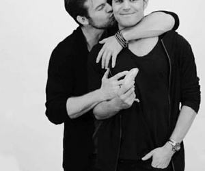 paul wesley, daniel gillies, and the vampire diaries image
