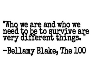 the 100, quotes, and bellamy image