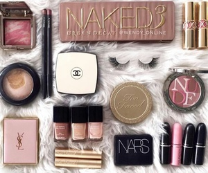 blush, mac, and make up image