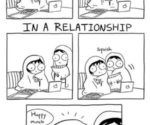 Relationship, funny, and single image