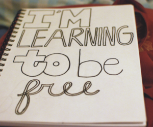 free, quote, and learning image