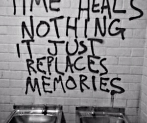 memories, time, and quotes image