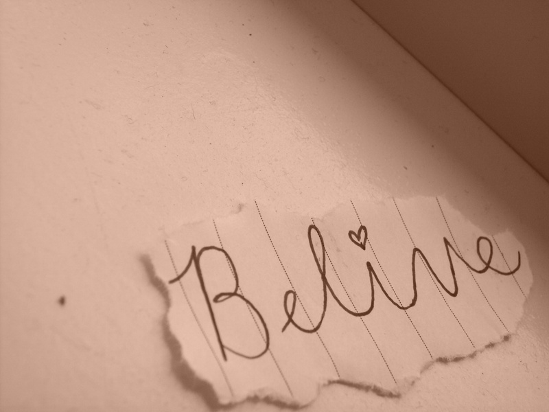 believe, hope, and pray image