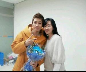 eunhyuk, with sister, and lee sora image