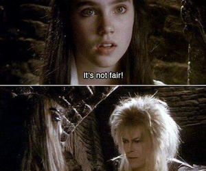 labyrinth, david bowie, and jareth image