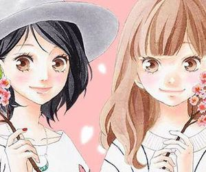 manga, yuna, and omoi omoware furi furare image